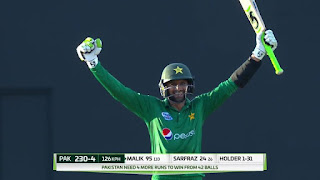 Shoaib Malik 101* - West Indies vs Pakistan 3rd ODI 2017 Highlights
