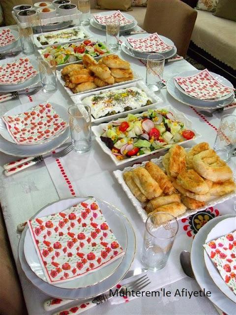 iftar sofrası resimleri