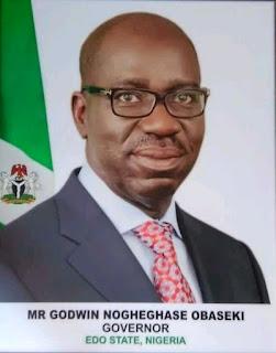 Governor of Edo state, Godwin obaseki, Edo state apc