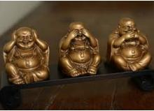 Shout In Loudly Laughing Buddha Or Budai