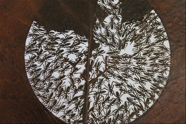 Green Pear Diaries, arte, tallar, hojas, Lorenzo Manuel Durán Silva
