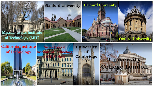 Which are the top 10 universities in the world