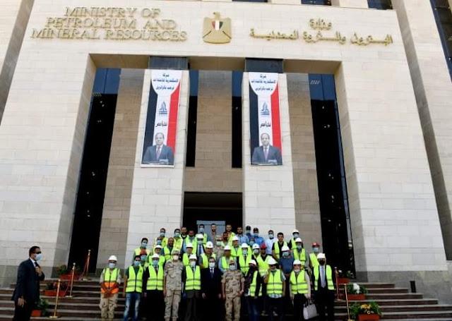 وزير البترول : يتفقد مقر وزارة البترول الجديد بالعاصمة الإدارية