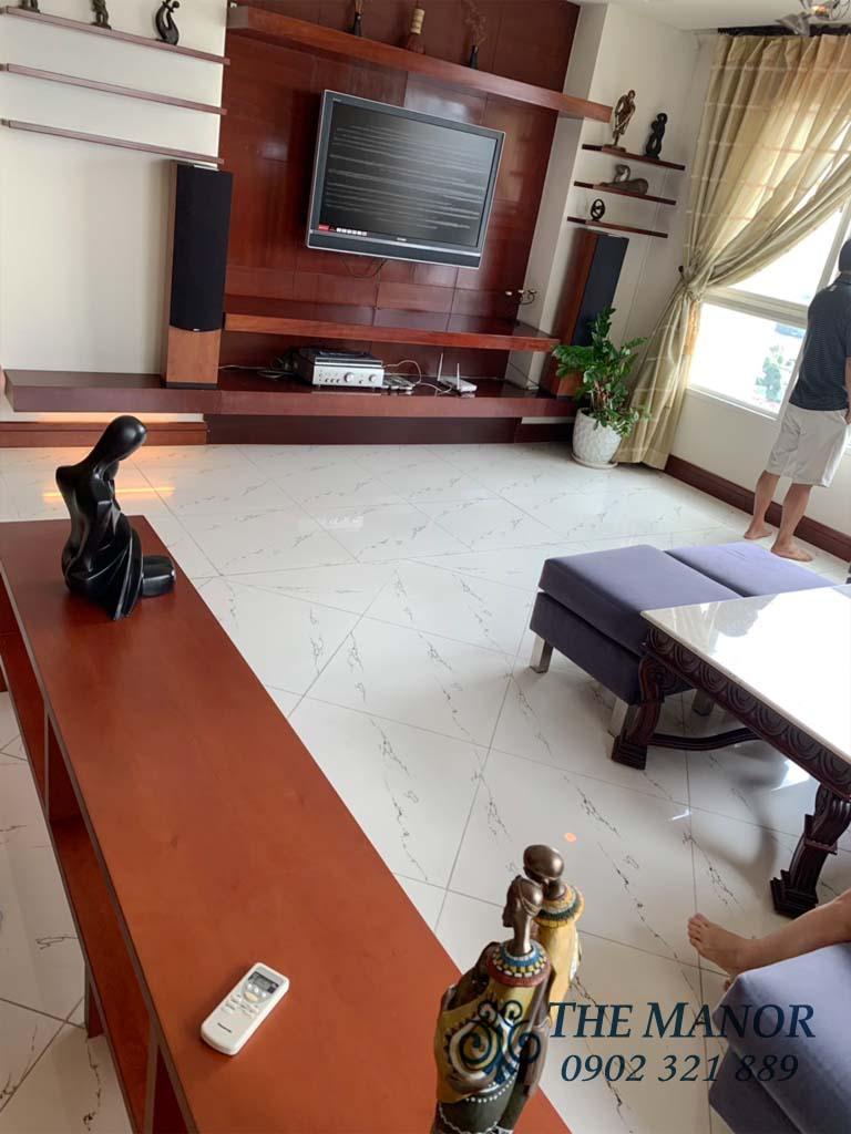 Bán căn hộ 3 phòng ngủ Manor quận Bình Thạnh 160m2 tầng cao giá 6,6 tỷ - 6