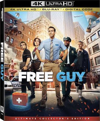 Filme Free Guy: Assumindo o Controle Dual Áudio 2021 - WEB-DL 4k 2160p Ultra HD