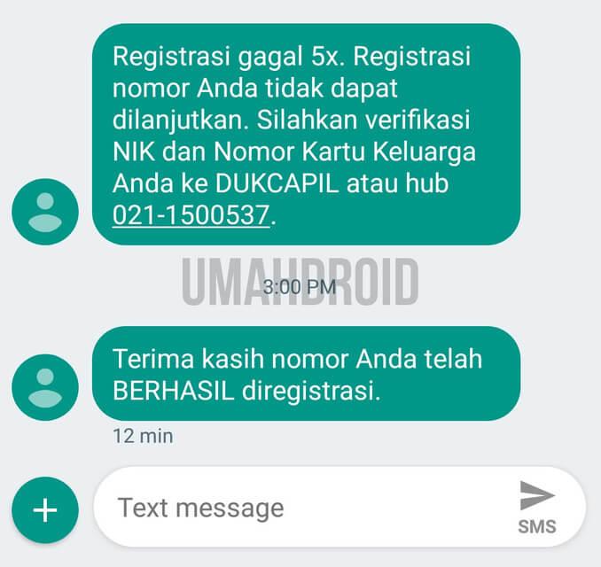Solusi Registrasi Kartu Indosat Gagal 5x Padahal Data Sesuai Umahdroid