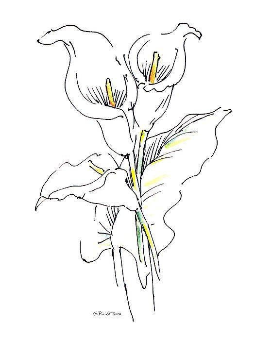 tato bunga simple