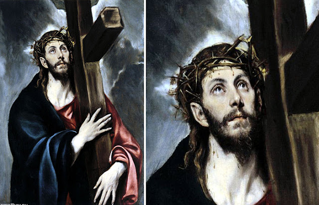 Cristo carregando a cruz El Greco