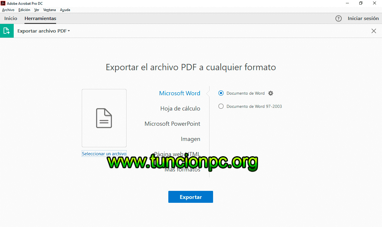 Adobe Acrobat Pro DC para Windows y Mac