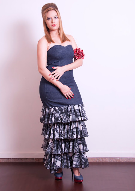 Vestido de Raquel Martí colección Renacer