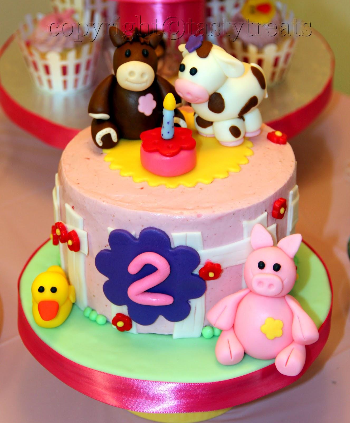Tasty Treats: The Birthday Cakes