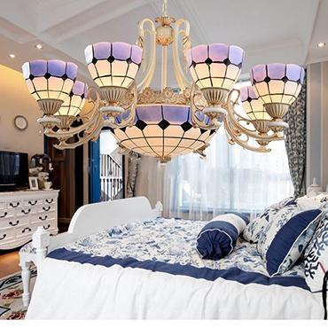 Hướng dẫn cách chọn đèn chùm thủy tinh phòng ngủ