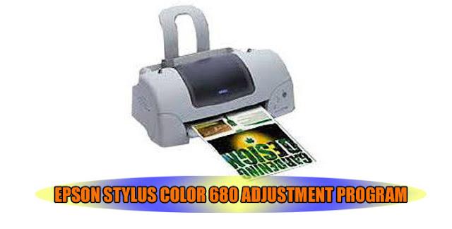 Epson Stylus Color 680 Printer Adjustment Program