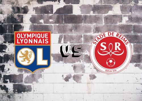 Olympique Lyonnais vs Reims  Resumen