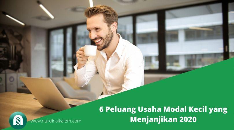 6 Peluang Usaha Modal Kecil yang Menjanjikan 2020