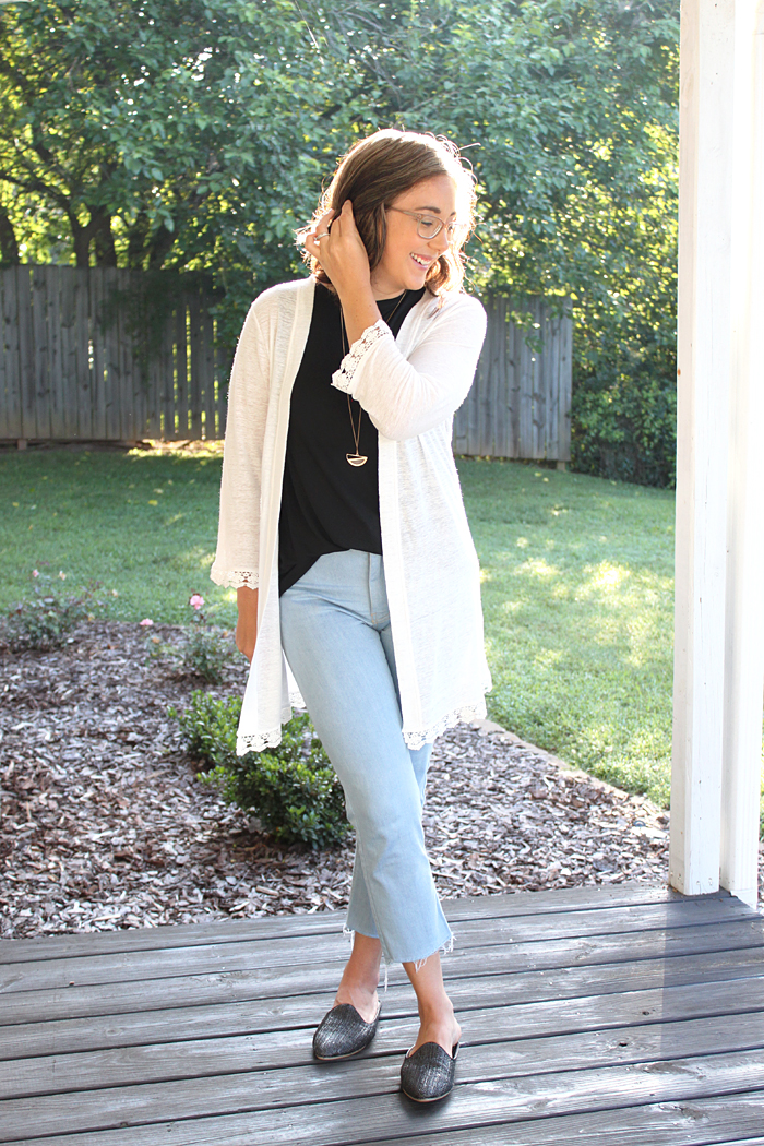 Medina Linen Blend Blackwood Cardigan // Sewing For Women