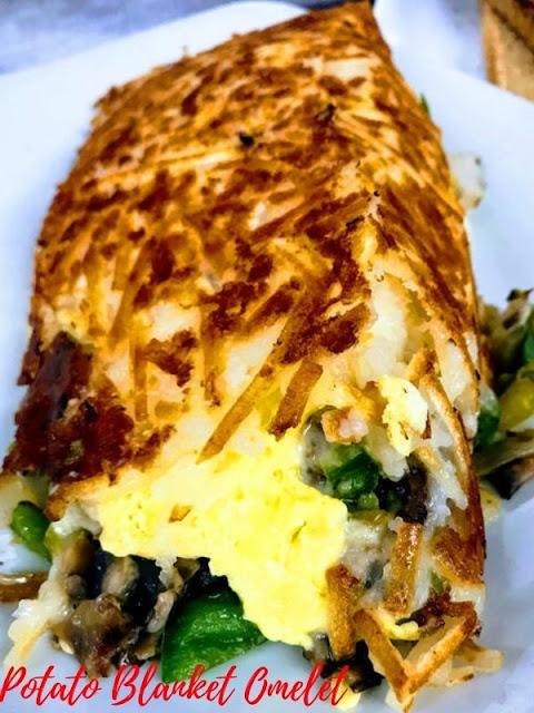 Potato Blanket Omelet