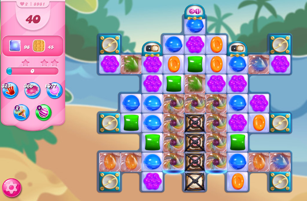 Candy Crush Saga level 8981