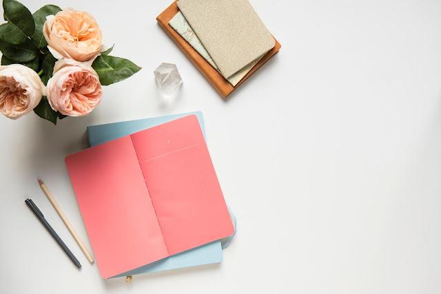 notebooks and notepads Photo by Joanna Kosinska on Unsplash