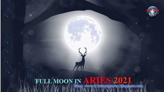 Aries full moon October 2021   trăng tròn tháng 10