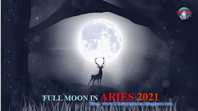 Full Moon in Aries October 2021 | Trăng tròn tháng 10 Bạch Dương