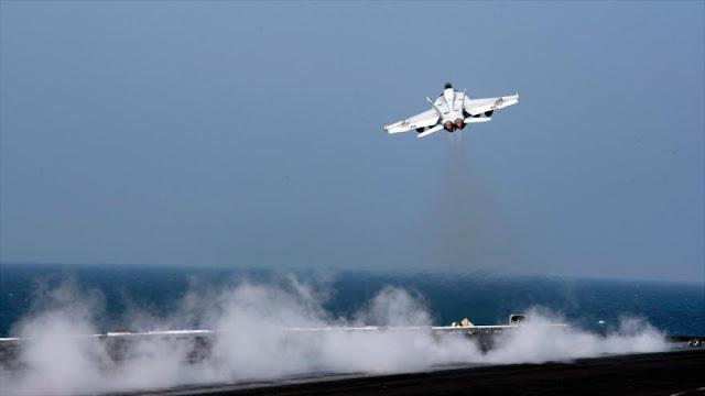 EEUU envía portaviones nuclear y buques de guerra al Mediterráneo