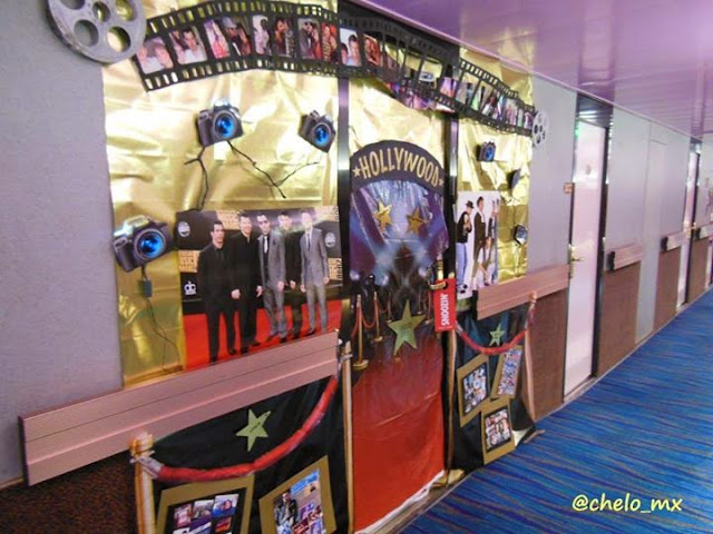 Nkotb Cruise Blog By Chelo Mx Door Decorations
