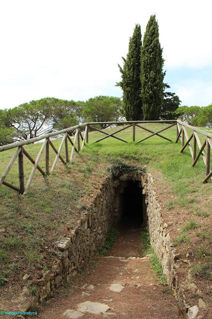 Ipogeo etrusco di Montecalvario, Castellina in Chianti, arqueologia, Toscana, Itàlia