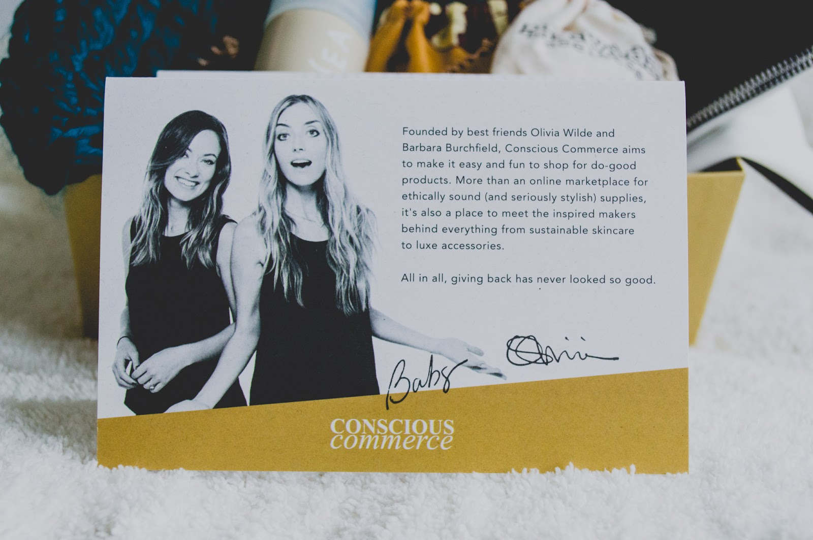 Conscious Commerce Curated Limited Edition Birchbox