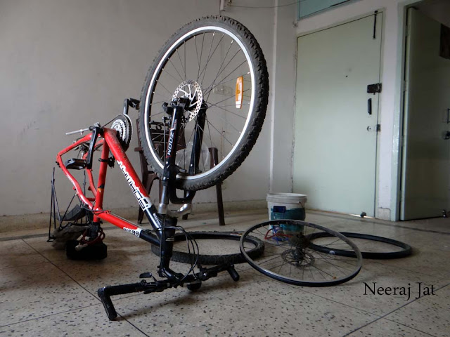 लद्दाख साइकिल यात्रा- पहला दिन- दिल्ली से प्रस्थान