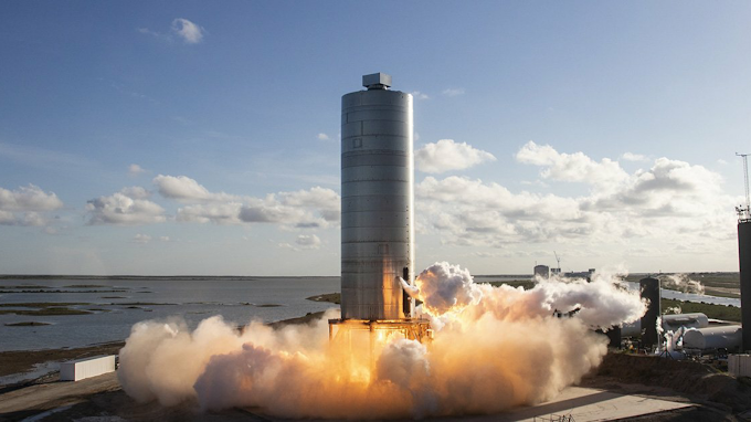 SpaceX Successfully Launch Starship Prototype First Hop To A Height Of 500 Feet