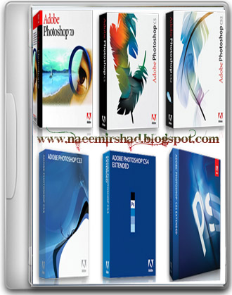 Adobe photoshop all versions