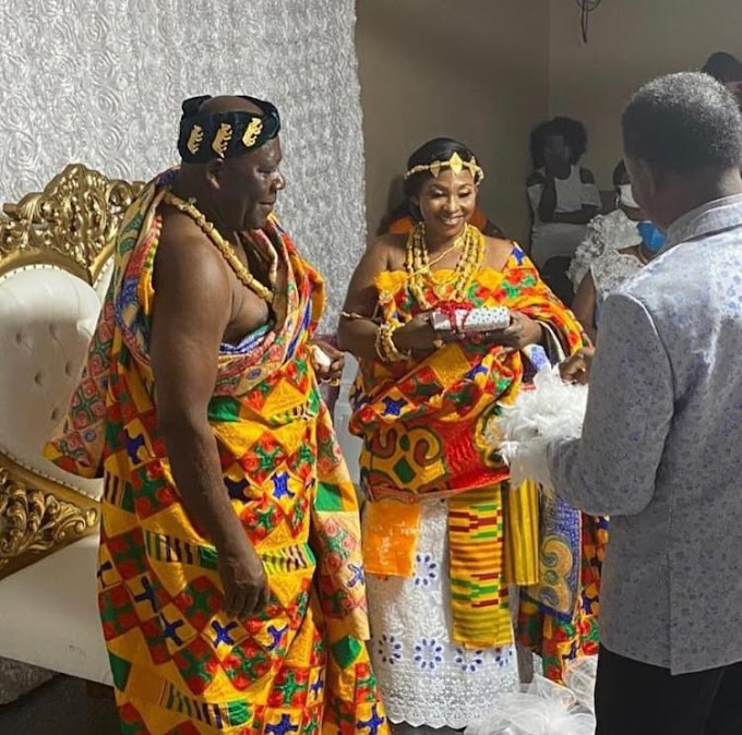 Photos From The Traditional Marriage of Veteran Actress Kyeiwaa In The US