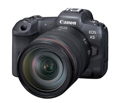 Canon EOS R5 Key Specifications