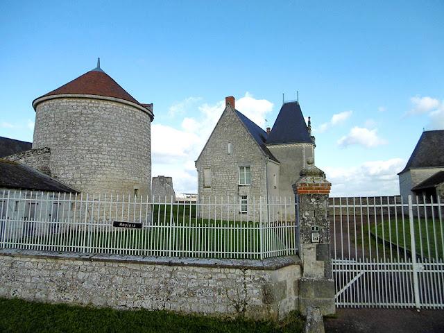 Manoir de Roziers, Vienne, France. Photo by Loire Valley Time Travel.
