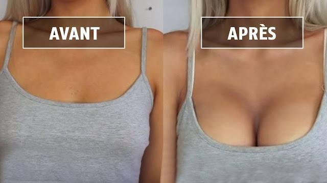 On a enfin la clé pour grossir ses seins naturellement et sans chirurgie !