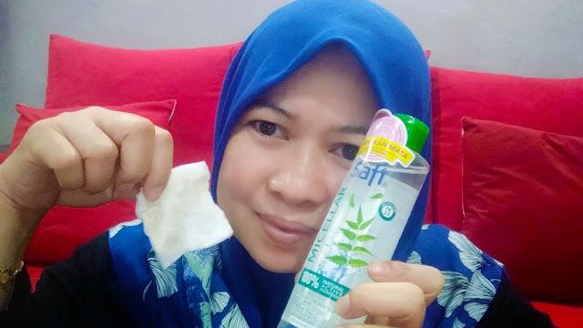 Wajah Bersih Sempurna Dengan Safi Micellar Natural Cleansing Water