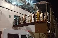 Tiba di Pelabuhan Bima, KKP dan Tim Dikes Temukan Satu Pasien PDP dari KM Binaiya