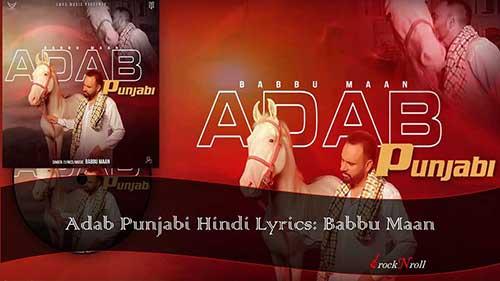 Adab-Punjabi-Hindi-Lyrics-Babbu-Maan