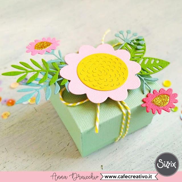 Scatolina fai-da-te - Gift Box Floral Tropics