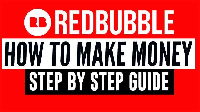 طرق الربح من موقع Redbubble للمبتدئين بدون خبرة