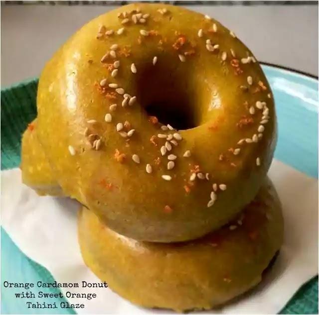 Orange Cardamom Donuts