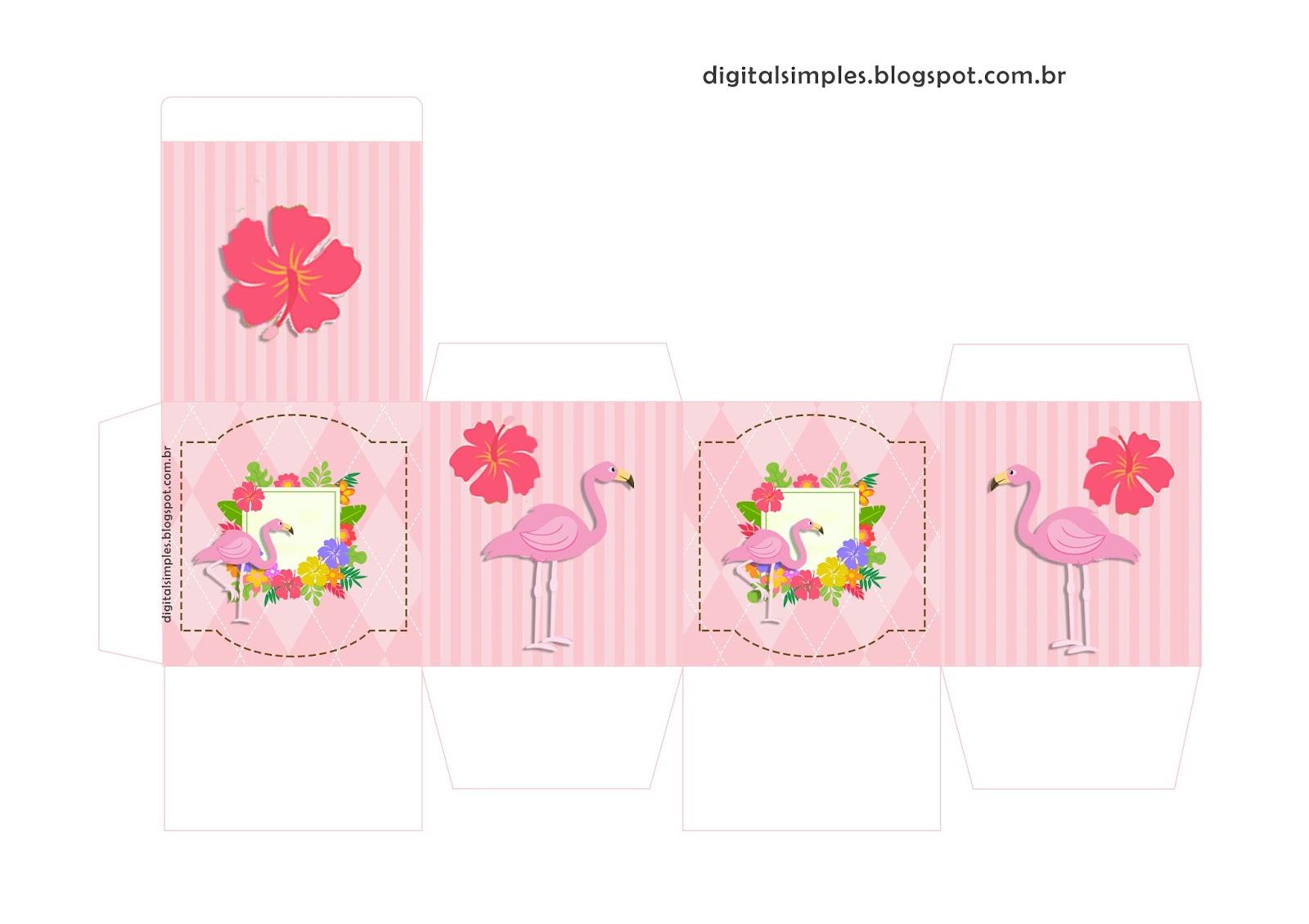 Flamingo Cajas Para Descargar Gratis Oh My Fiesta Para Chicas