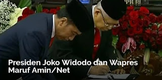 Sah! Jokowi-Maruf Jadi Presiden-Wapres