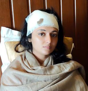 'मेरा भारत महान' फिल्म की शूटिंग सेट पर चले पत्थर, अभिनेत्री जख्मी | #NayaSaberaNetwork