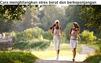 Cara menghilangkan stres yang mudah diterapkan
