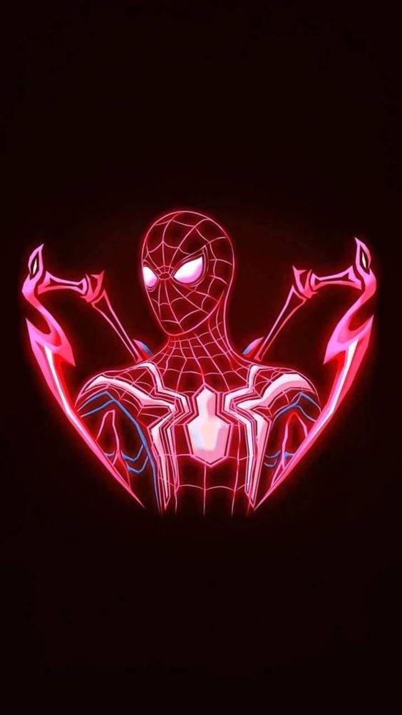 Wallpaper spiderman keren