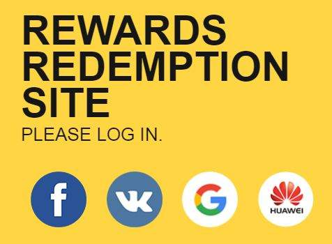 reward redemption of free fire