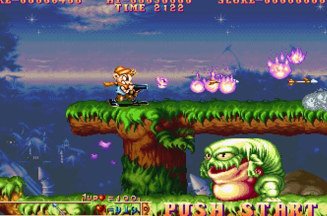 Three Wonders Giant Frog Screenshot