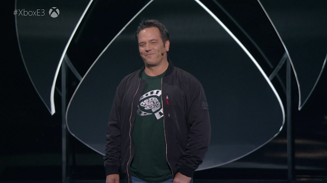 Phil Spencer Head of Xbox E3 2019 Psychonauts shirt